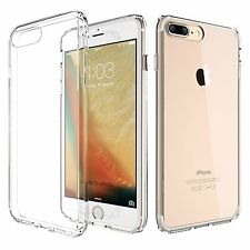 For iPhone 7 Ultra Thin Slim Clear Crystal Rubber Bumper TPU Soft Case Cover