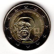 2 EURO COMMEMORATIVO FRANCIA 2012
