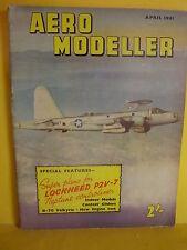 AEROMODELLER APRIL 1961 P2V 7 NEPTUNE 35CM CLASS INDOOR B70 VALKYRIE TOOTHPICK
