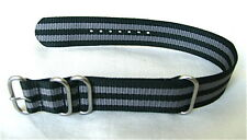 BOND Military Style 4 Ring Watch Strap! 22mm fits Seiko 6309, 7002, SKX007...
