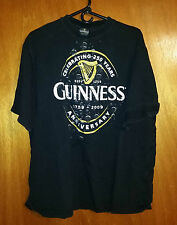 Vintage 250 Year Anniversary Guinness Black - T-Shirt Size = 2x