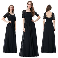 Filame Chiffon Bridesmaid Dresses Formal Gown Ball Evening Party Cocktail Prom