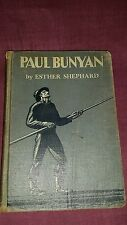 Paul Bunyan by Esther Shephard, Rockwell Kent Illustr., 1924