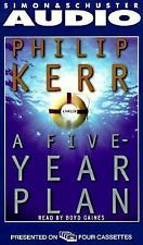 A Five Year Plan by Philip Kerr (1998, Cassette, Abridged)