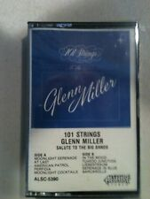"GLEN MILLER ""101 STRINGS"" SALUTE TO THE BIG BANDS  CASSETTE"