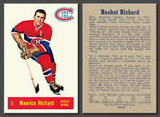 Maurice Richard #5, Reprint, 1957-58 Parkhurst mint condition