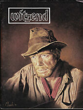WITZEND # 12 COMIC FANZINE SCI-FI HORROR COMICS WALL WOOD 1982 DON MARTIN DITKO