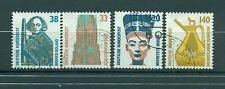 Allemagne -Germany 1989 - Michel n. 1398/1401 - Timbres-poste ordinaires
