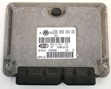 VW GOLF MK4 1.6 16V AZD 2002 ENGINE CONTROL UNIT ECU 036 906 034 CN 61600.612.04
