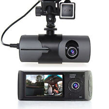 "Vehicle Car 2.7"" DVR Camera Video Recorder Dash Cam G-Sensor GPS Dual Len Camera"