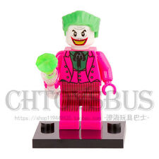 Pink Joker Batman Suicide Squad Robin Super Heroes Blocks Minifigures Toys Gifts