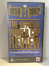 1958 - 1962 ~ THE OFFICIAL WORLD CUP REVIEW ~ ENDORSED BY FIFA ~ RARE VIDEO
