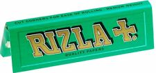 20x Rizla Green Cigarette Rolling Papers Booklets - Regular Size