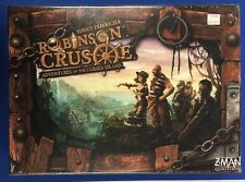 ROBINSON CRUSOE ADVENTURES ON THE CURSED ISLAND BOARD GAME NEW FACTORY SEALED