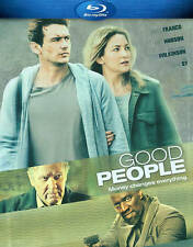Good People (Blu-ray Disc, 2014) James Franco, Sam Spruell, Anna Friel, NEW