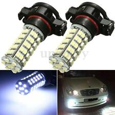 For Audi A3 8P Pair 19w H16 5202 LED DRL Fog Light White Sidelight Bulbs Xenon