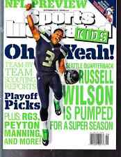 September 2013 Russell Wilson Seahawks Sports Illustrated For Kids NO LABEL