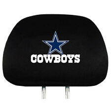 Dallas Cowboys Vehicle Head Rest Covers 2 Pack Set Car Truck NFL Hologram