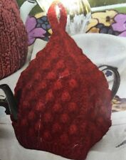 H1 - Knitting Pattern For Simple Berry Stitch Tea Cosy