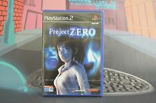 PROJECT ZERO NEW SEALED PAL ESP PLAYSTATION 2 PS2 SHIPPING 24/48H