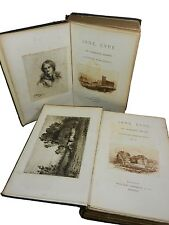 JANE EYRE by CHARLOTTE BRONTE, 1892, Signed William Paterson Edition, 2 Volumes