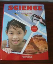 ACSI Purposeful Design Science 4th Grade 4 Level Four Student Text Systems