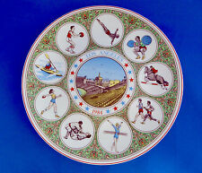 Olympics 1984 Los Angeles Wedgwood Plate Porcelain Limited Edition Sport Athlete
