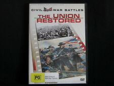The Union Restored. The Civil War. Documentary. DVD. Made In Australia