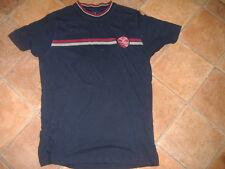 FRED PERRY 1952 RIVIERA Club Giocatori T-shirt, taglia S, G/C, Designer Camicia/Top