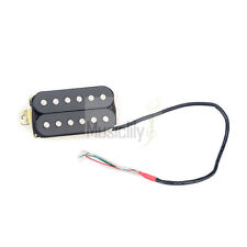Musiclily Thread 52mm Humbucker Double Coil Bridge Electric Guitar Pickup Black