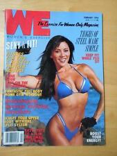 Rare WE female bodybuilding muscle exercise magazine/KIANA TOM 2-94