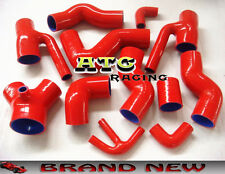 Bi-Turbo Silicone Induction Intake Hose for Audi S4 RS4 Biturbo A6 B5 2.7L RED