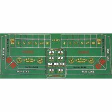 New Craps Felt Layout for Home Games