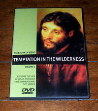 DVD: The Story of Jesus, Volume 2 - Temptation in the Wilderness / Christian NEW