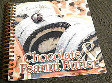 Chocolate & Peanut Butter Cookbook color photo recipes, desserts easy 2 make NEW