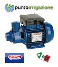 Elettropompa pompa autoclave periferica HP 0,8 Speroni KPM 80 Made in Italy