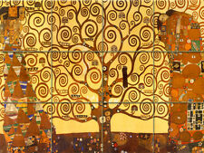 Klimt Mural Ceramic Bath Backsplash Decor Tile #468
