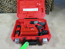 "Milwaukee 2410-22 M12 Cordless 3/8"" Drill Driver Kit FREE SHIPPING"
