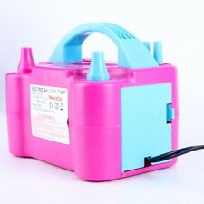 600W AC Electric Balloon Pump Air Blower / Balloon Inflator For Decoration