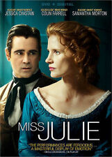 iss Julie DVD + Digital UV, Jessica Chastain, Colin Farrell 2015 - NEW FREE SHIP