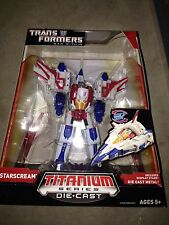 "Transformers Titanium Starscream 6"" Cybertron G1 Tetrajet New die cast"