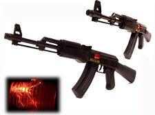 XXL Spielzeug RATTER Gewehr AK-47 57 cm mit FUNKEN Sound LICHT Maschinengewehr