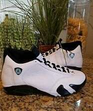 New Nike Air Jordan XIV 14 Retro Oxidized Green 487471-106 Mens Sz 15