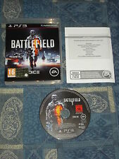 PS3 : BATTLEFIELD 3 - Completo, ITA ! Capolavoro! Prima stampa !