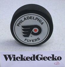 Philadelphia Flyers NHL Official Hockey Puck - John A Ziegler Jr, Trench, Canada