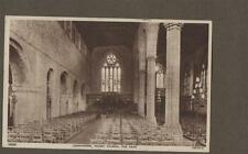 Leominster Priory Church Nave 1954   Vintage Postcard    L.245