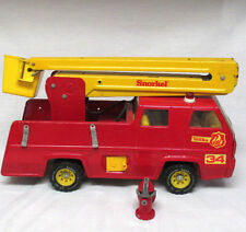 VINTAGE TONKA SNORKEL 34 FIRE ENGINE WITH BUCKET AND HOSE ***
