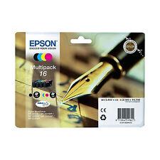 ORIGINALI EPSON T1626 BK C M Y PER Epson WorkForce WF-2520NF WF-2510WF WF-2010W