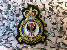 Royal Air Force BOMBER COMMAND Blazer Badge (Bullion) Queens Crown RAF (SN)