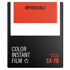 Impossible SX70 Instant Film - PX70 Instant Film - NEW VERSION